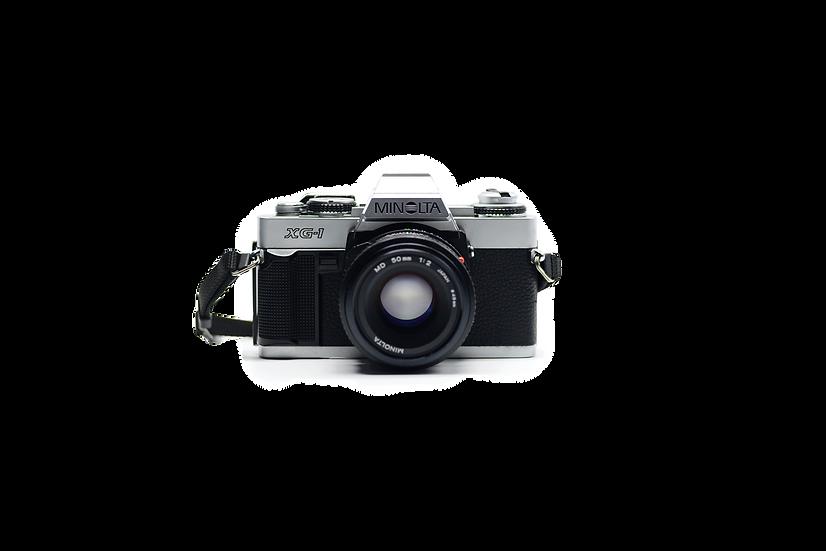 Minolta XG-1 Film Camera with 50mm f/2 Lens