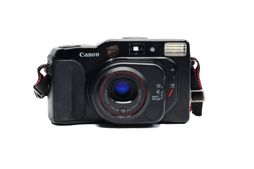 Canon Sure Shot Tele 35mm Film Camera with 40/70mm f/2.8-4.9 Lens