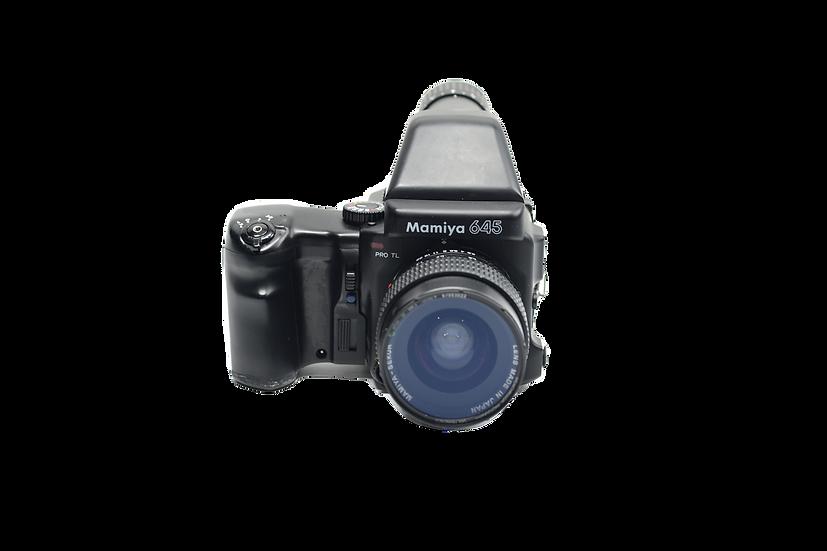 Mamiya 645 Pro TL Film Camera with 45mm Lens
