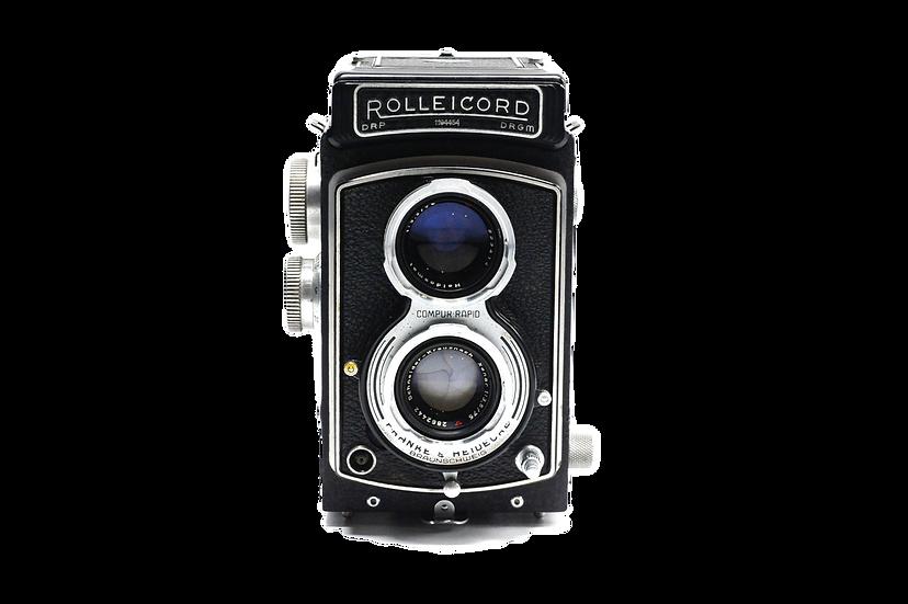 Rolleicord III TLR Film Camera with Schneider-Kreuznach Xenar f/3.5 75mmLens