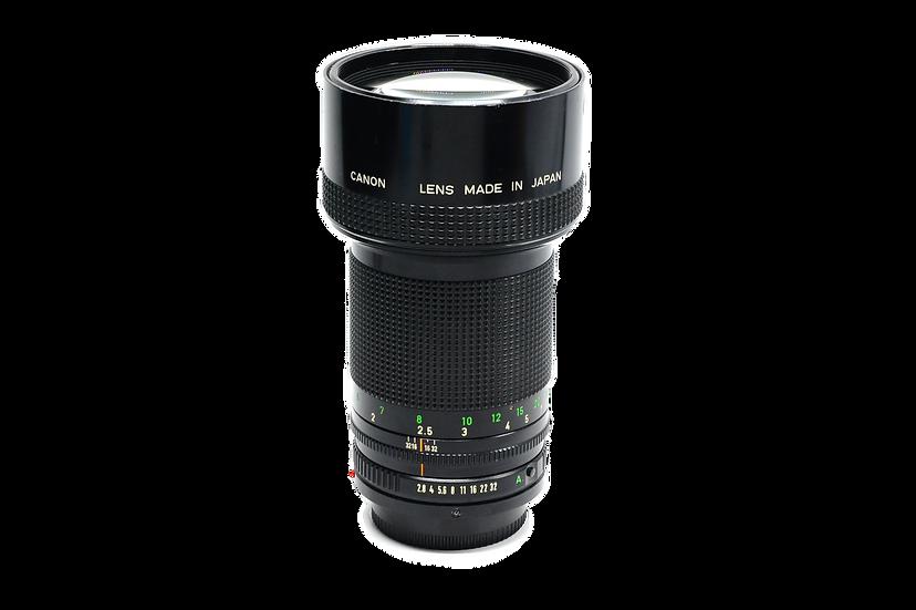 Canon FD 200mm f/2.8 Manual Focus Lens