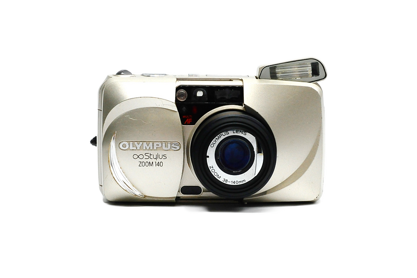 Olympus Stylus Zoom 140 Point and Shoot Film Camera