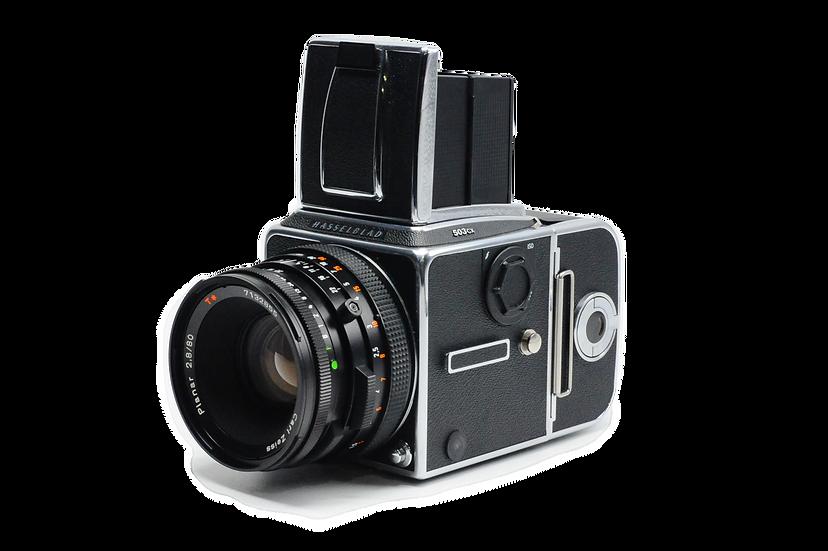 Hasselblad 503 CX Medium Format Film Camera Kit (Chrome)