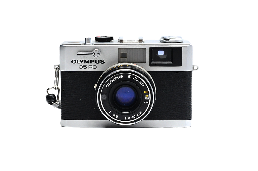 Olympus 35 RC with 42mm f/2.8 Compact Film Camera