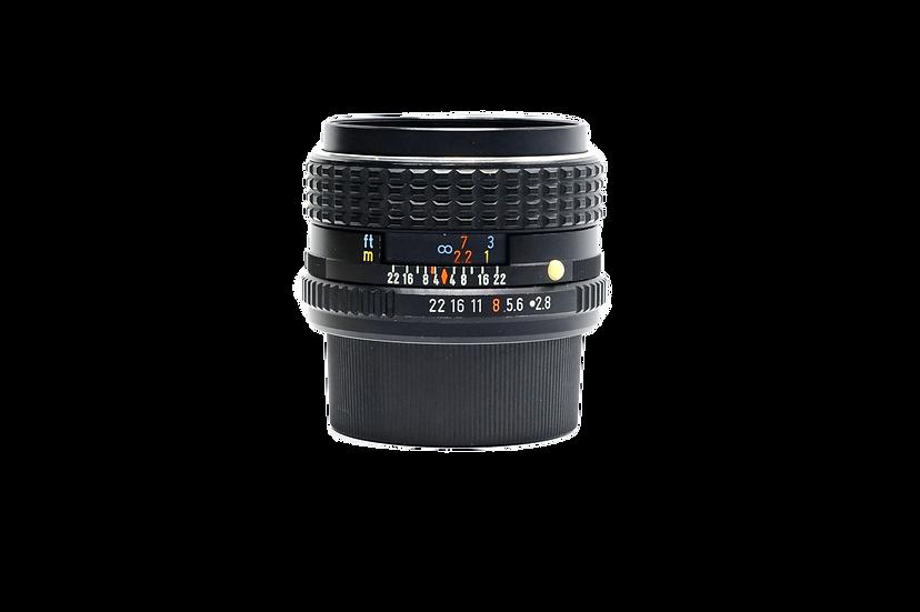 Pentax SMC 24mm f/2.8 PK Mount Manual Lens