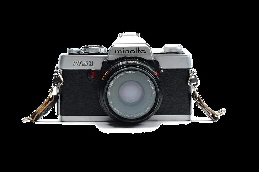 Minolta XG-1 Film Camera with 45mm f/2 Lens