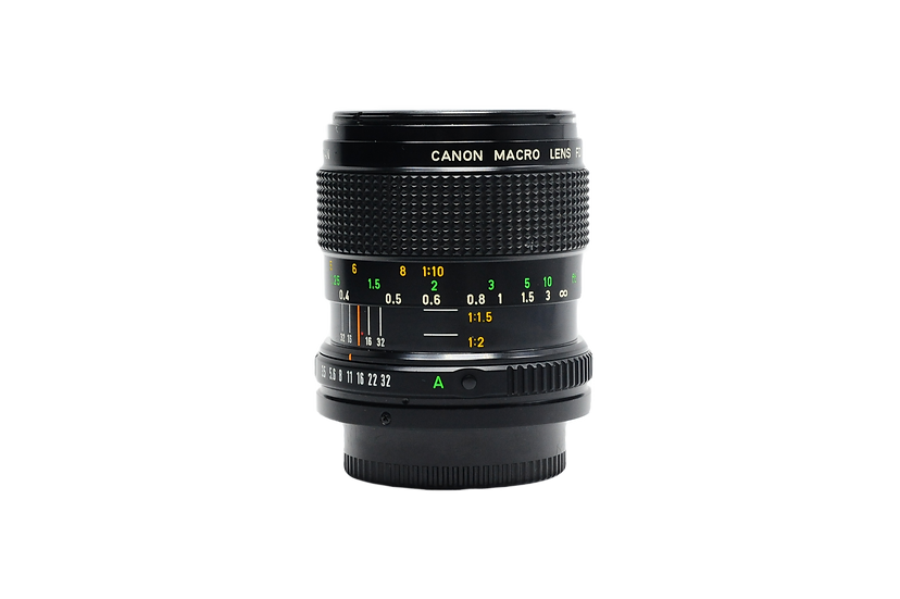 Canon 50mm f/3.5 Macro FD Manual Focus Lens