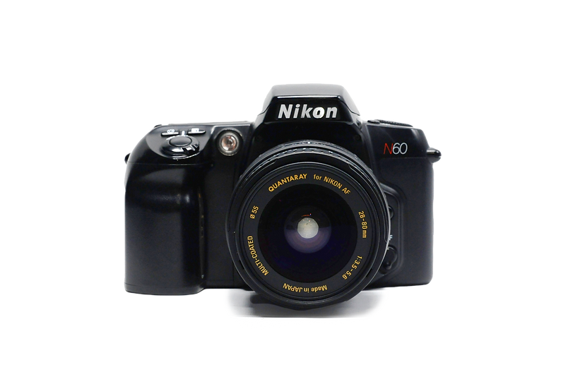 Nikon N60 Film Camera w/ 28-80mm Zoom Lens