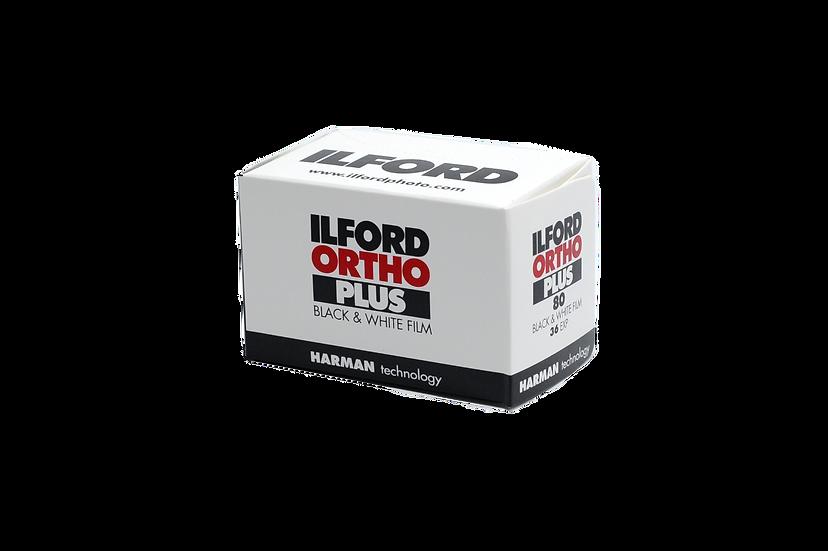 Ilford Ortho Plus Black & White Negative Film (35mm Roll Film, 36 Exposures)
