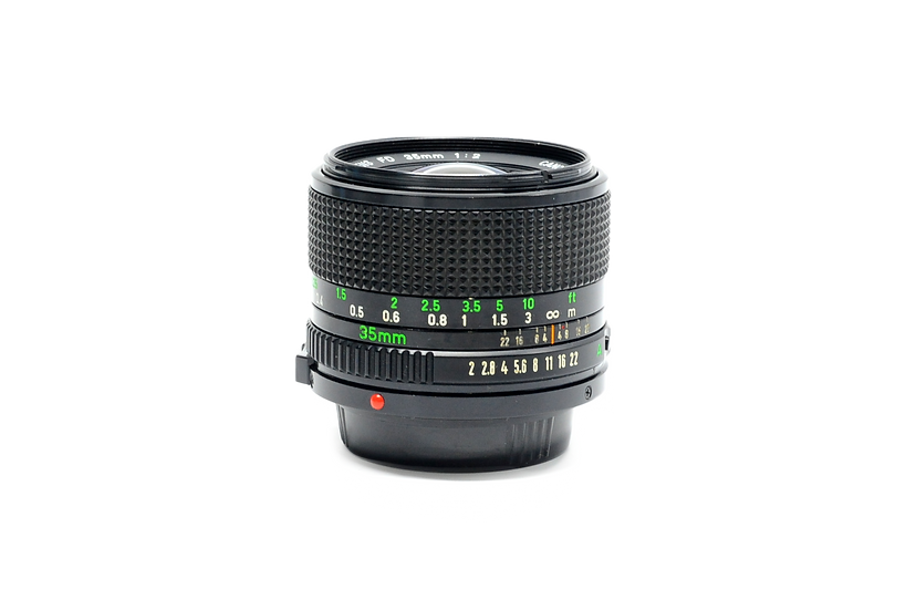 Canon FD 100mm f/2.8 Manual Focus Lens