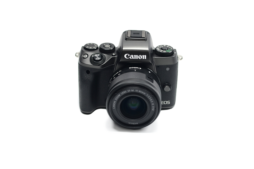 Canon EOS M5 Mirrorless Camera with 15-45mm EF-M Lens