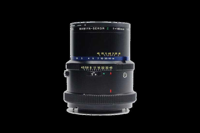 Mamiya RZ 180mm f/4.5 Telephoto Lens