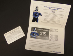 Self Mailer with 3ply Card