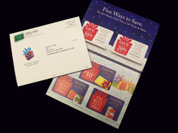 Self Mailer with 5 Cards