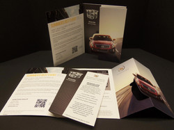 Self Mailer with Die Cut