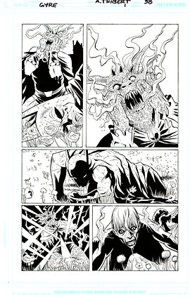 Batman: Widening Gyre #1/Page 38      SOLD