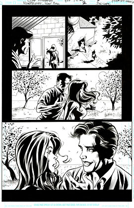 Huntress #2/Page 7     SOLD