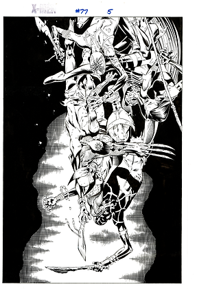 X-Men #77/Page 5     SOLD