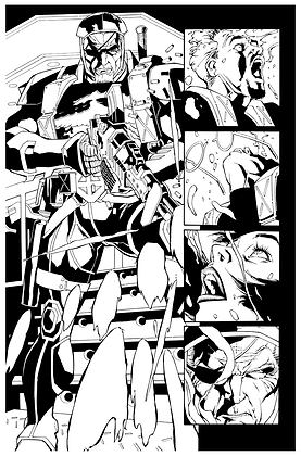 Deathstroke #1/Page 18       SOLD