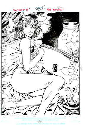 Scarlet Witch Swimsuit 95