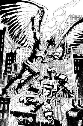 Savage Hawkman #15 Cover