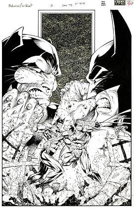 Batman/Wildcat #3/Cover     SOLD