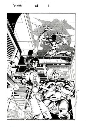 X-Men #68/Page 1