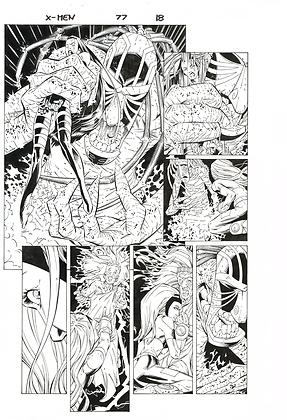 X-Men #77/Page 18
