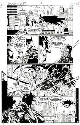 Batman/Wildcat  #3/Page 22    SOLD