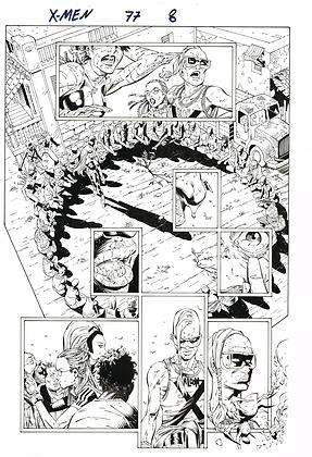 X-Men #77/Page 8