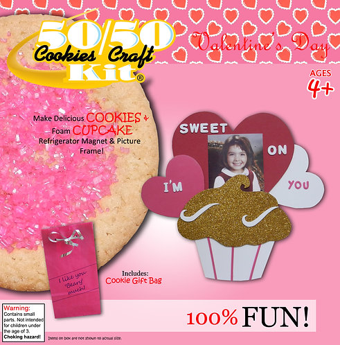 Cupcake Magnet & Picture Frame