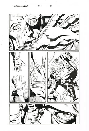 Captain America #37/Page 21   SOLD