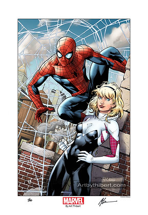 Spidey and Gwen- Limited Edition