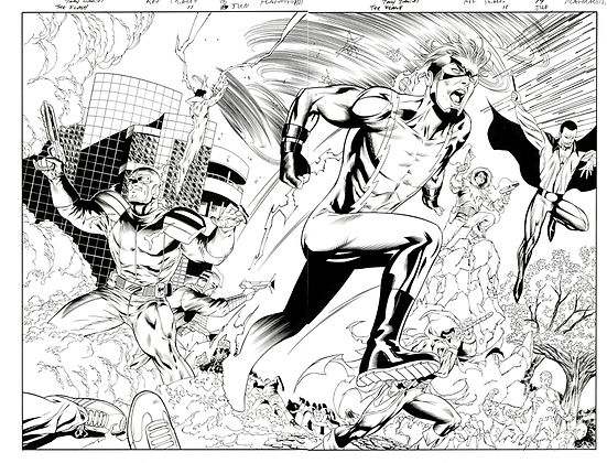 Flash #11/Pages 18&19    SOLD