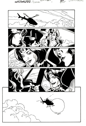 Outsiders/Wonder Woman #1/Page 22   SOLD