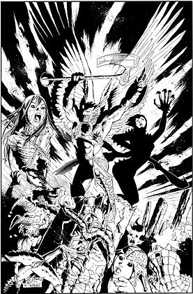 Savage Hawkman #18 Cover