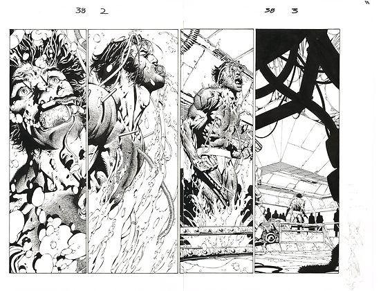 Ultimate X-Men #38/Pages 2&3  Dbl Page Spread