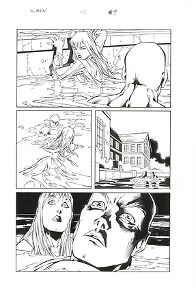 X-Men -1/Page 7            SOLD