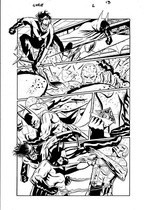 Batman: Widening Gyre #1/Page 13     SOLD