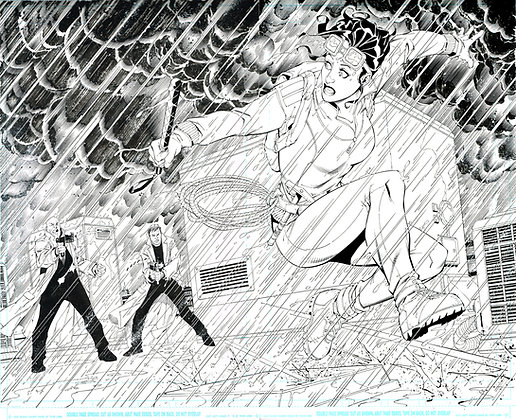 Catwoman 25/Pages 4&5 Dbl Page Spread