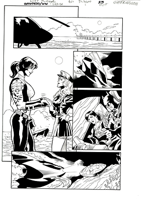 Outsiders/Wonder Woman #1/Page 23   SOLD