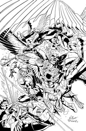 Savage Hawkman #14 Cover