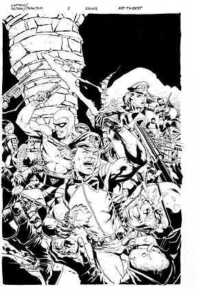 Captain Action/Phantom #2 Cover