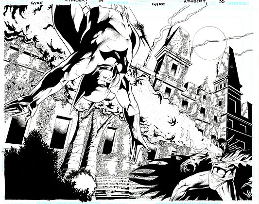 Batman: Widening Gyre #1/Page 34 and 35