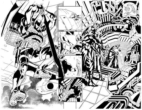 Deathstroke #1/Pages 12&13  SOLD