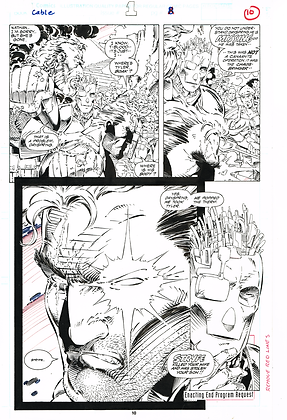 Cable #1/Page 10   SOLD