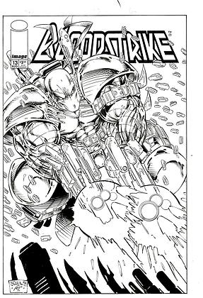 Bloodstrike #13 Cover            SOLD