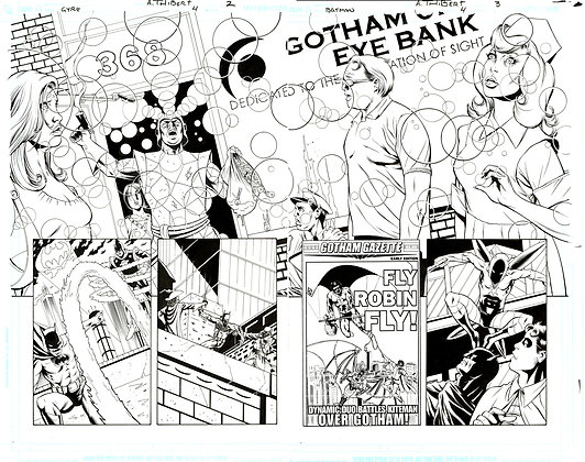 Batman: Widening Gyre #4/Pages 2 & 3