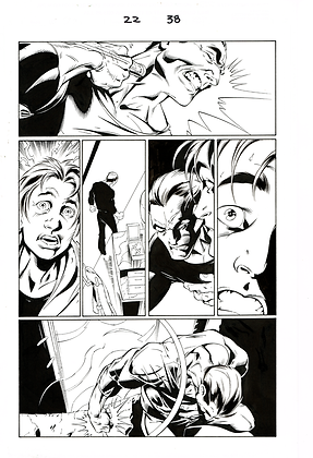 Ultimate Spiderman #22/Page 38    SOLD