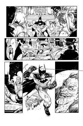 Batman: Arkham Knight #1/Page 1   SOLD